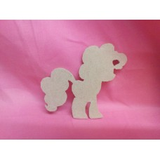 4mm MDF Fantasy pony design 2 pack of 3